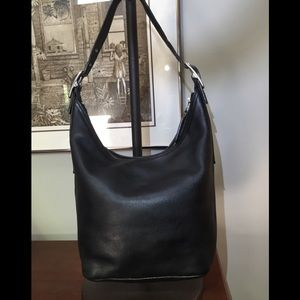 Coach Legacy West shoulder bag in black